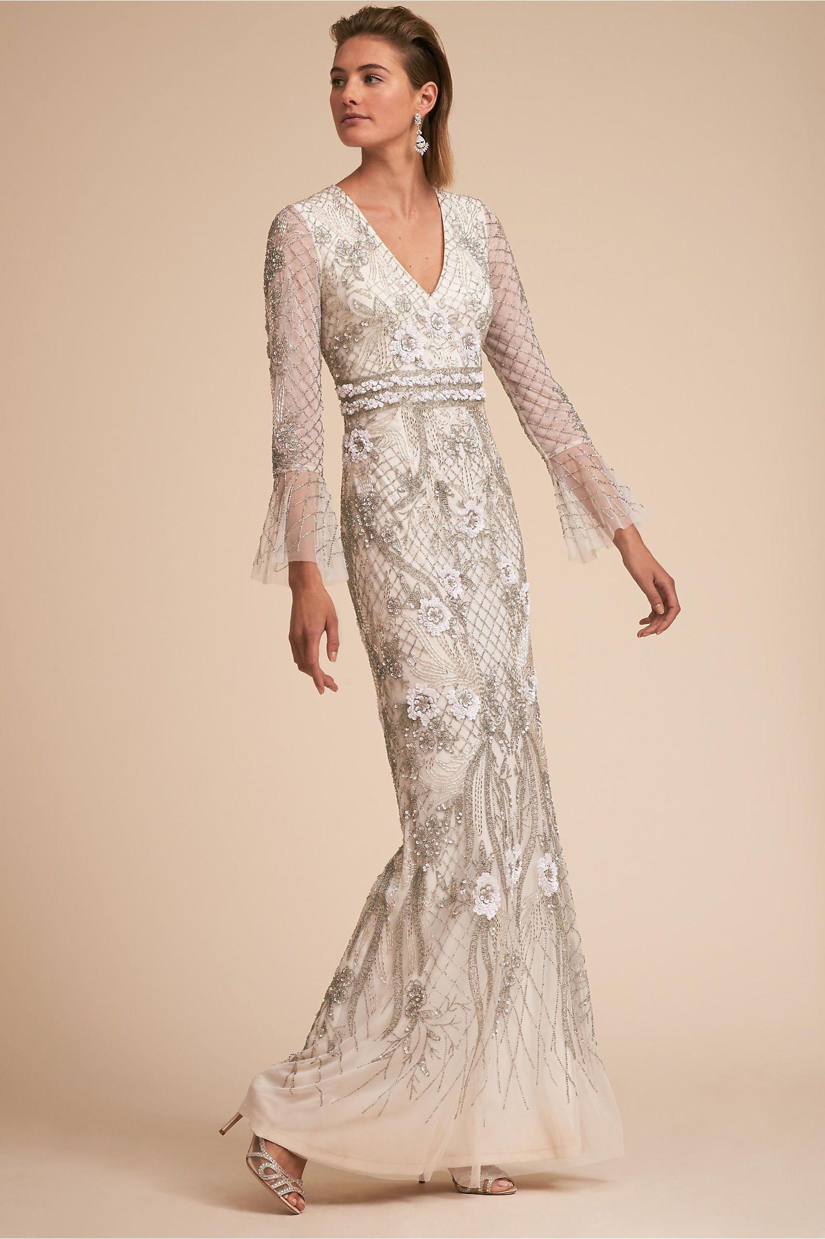 414ab802f5f BHLDN Turner Gown Ivory in Bride | BHLDN | amazing wedding dresses ...