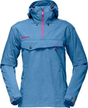 462e16a6bc22 Norröna W s Svalbard Cotton Anorak - Nova Blue (6805)