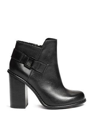 eca5923fb8 Cameron Block-Heel Booties   GUESS.COM   GUESS / Shoes in 2019 ...