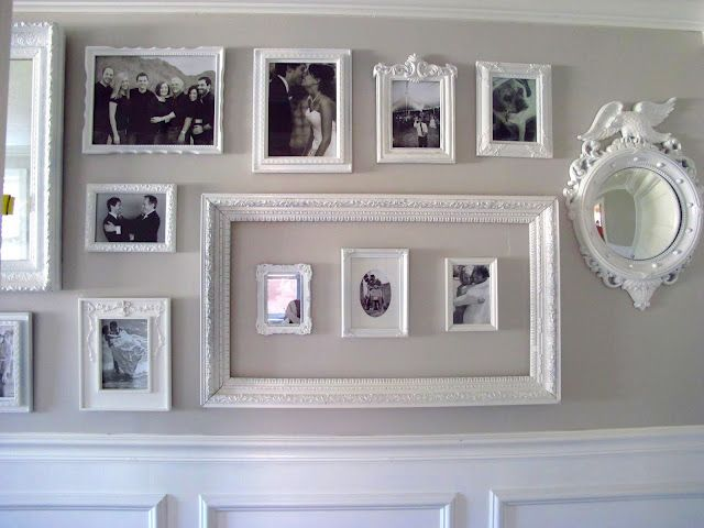 Gallery Wall and Frames