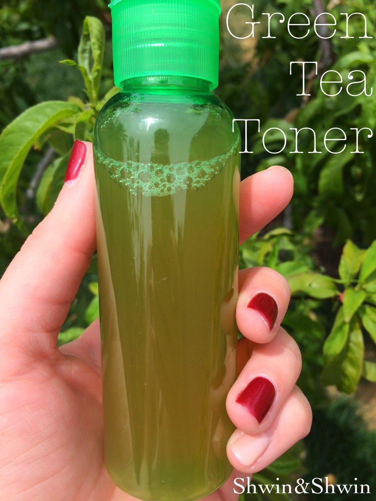 diy green tea toner | green tea toner, natural facial toners