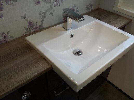 Attractive Quantum Square Semi Recessed Basin