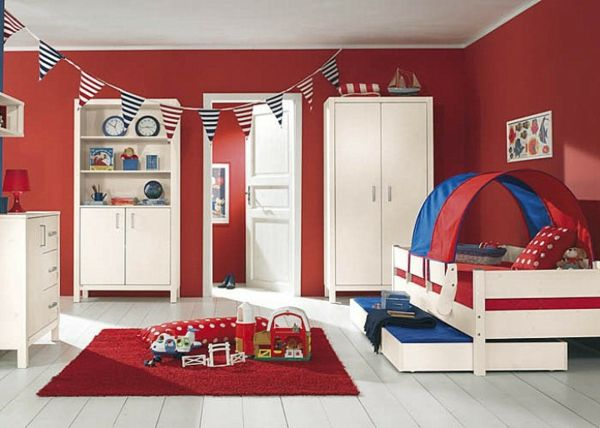 1001 kinderzimmer streichen beispiele tolle ideen f r die wandgestaltung kinderzimmer. Black Bedroom Furniture Sets. Home Design Ideas