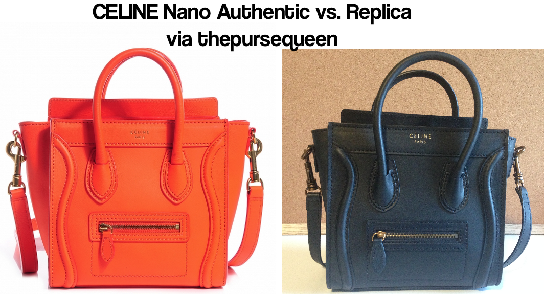 Can You Spot Fake Celine Bags? A Guide to Authentic vs. Replica Celine Nano  Bags