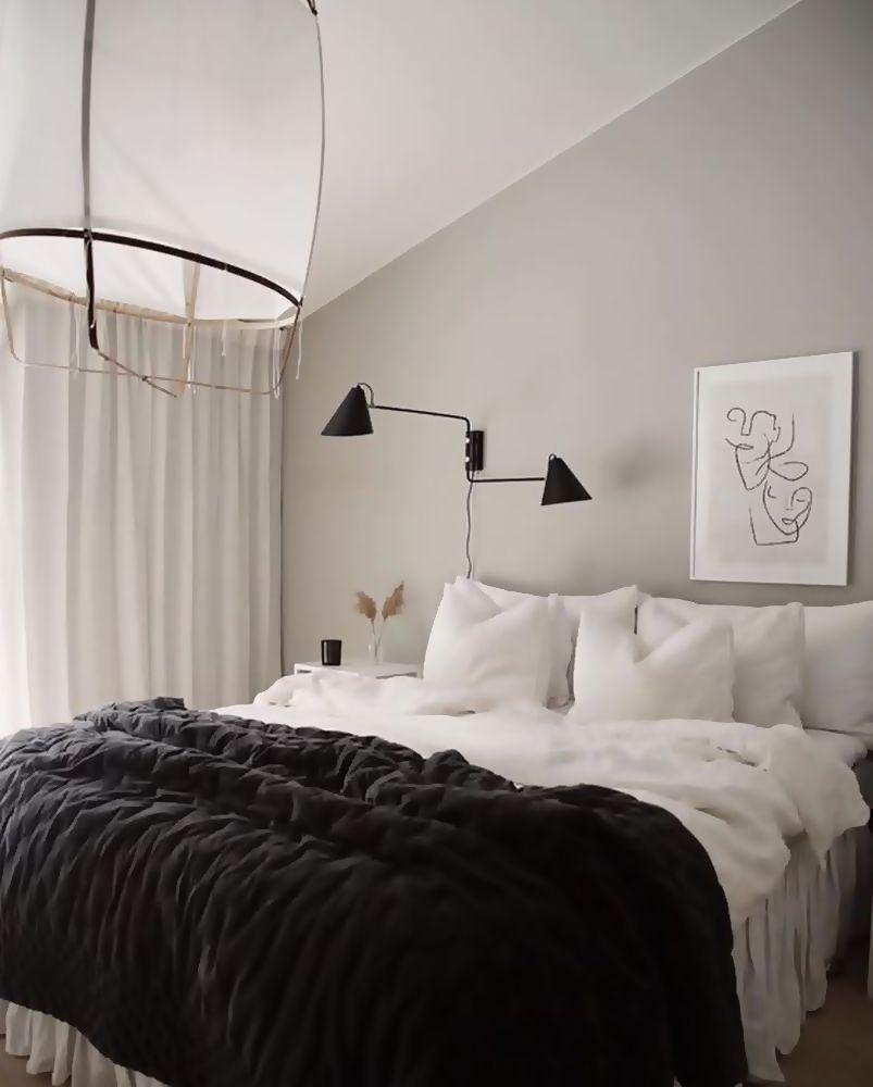 Photo of 25 best skandinavischen Urlaub Schlafzimmer Dekore auf ein Budget