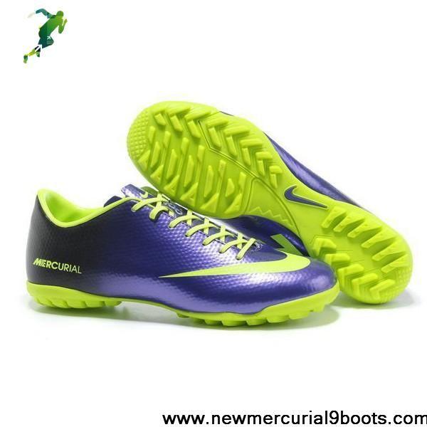 b8a2c9dcb Latest Listing Nike Mercurial Vapor IX - Mercurial Vapor 9 TF Football  Futsal Deep Purple fluorescent green Football Shoes On Sale