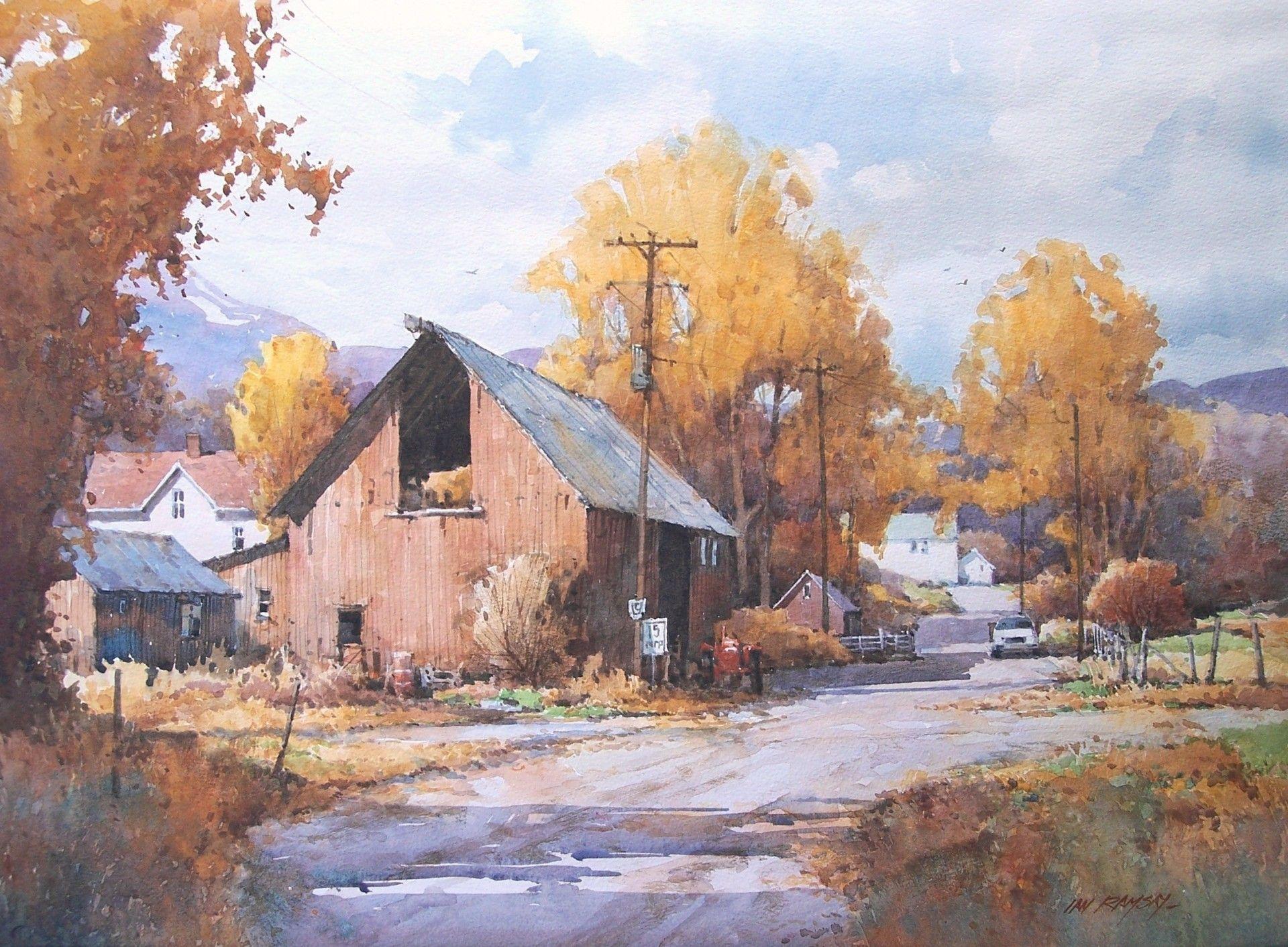 Roland Lee Watercolor Utah Desert Watercolor Art Desert