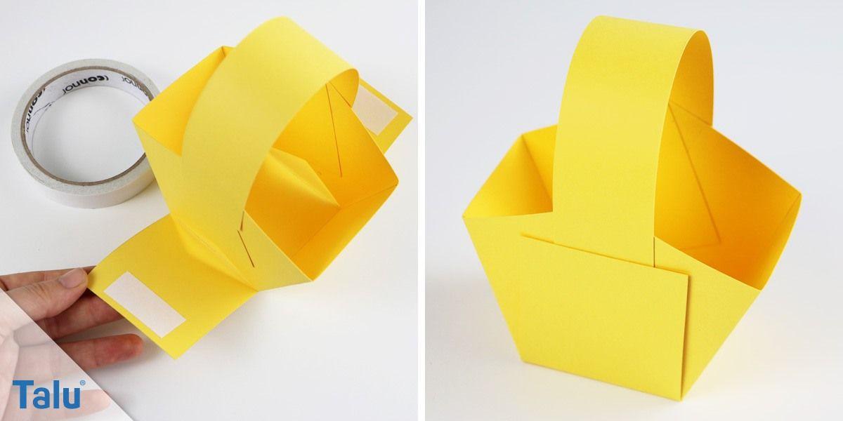 osterk rbchen basteln anleitung vorlagen f r osternester ostern pinterest. Black Bedroom Furniture Sets. Home Design Ideas