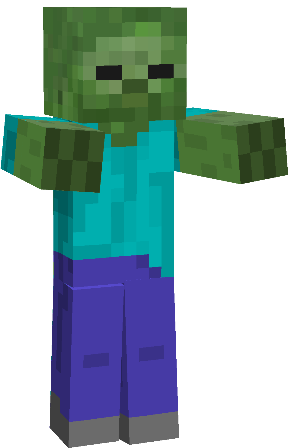 Pin By Diana Justice On Minecraft Party Pinterest Minecraft Mobs - Zombey skin fur minecraft pe