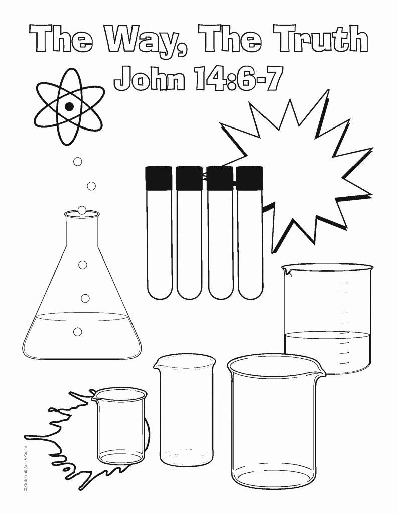 Mad Science Coloring Page Lovely Science Lab Coloring