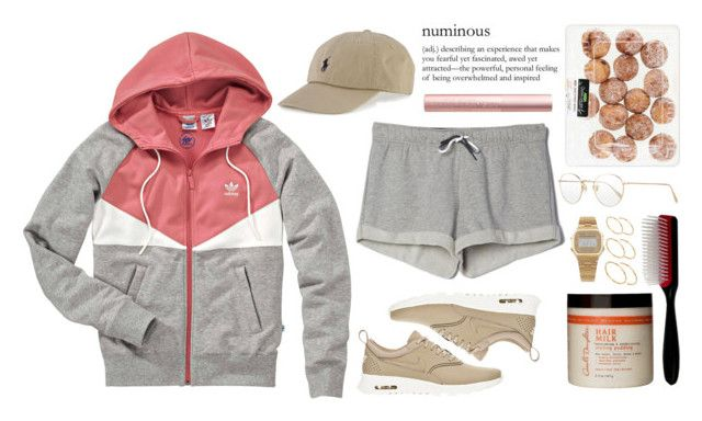 """something's got to change "" by love-rebelwolf ❤ liked on Polyvore featuring Oliver Peoples, adidas, NIKE, ASOS, Polo Ralph Lauren, American Apparel, Carol's Daughter and Denman"