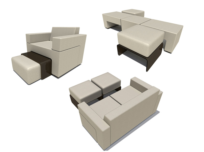 Another Great Design To Make Us Hate Our Furniture: The Slot Sofa By  Matthew Pauk Pictures