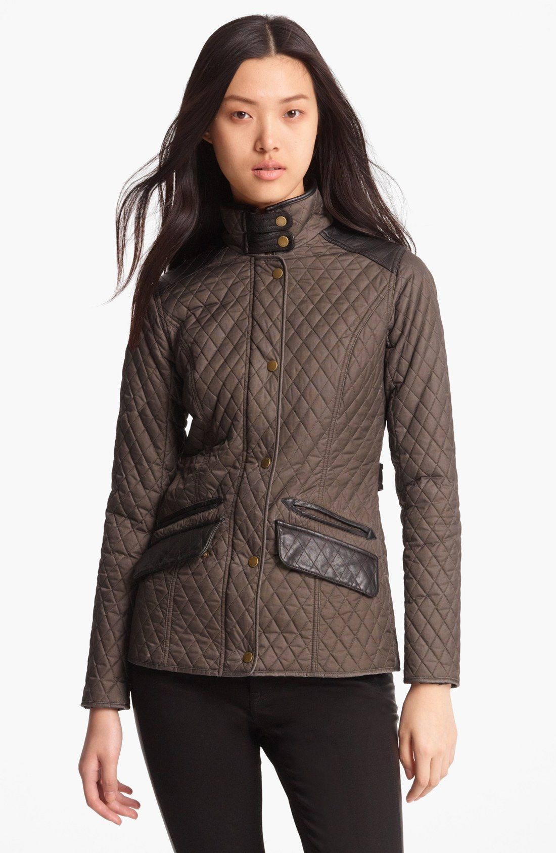 Barbour Gold Label 'Dunberry' Quilted Jacket For Women | THINGS I ... : gold quilted jacket - Adamdwight.com