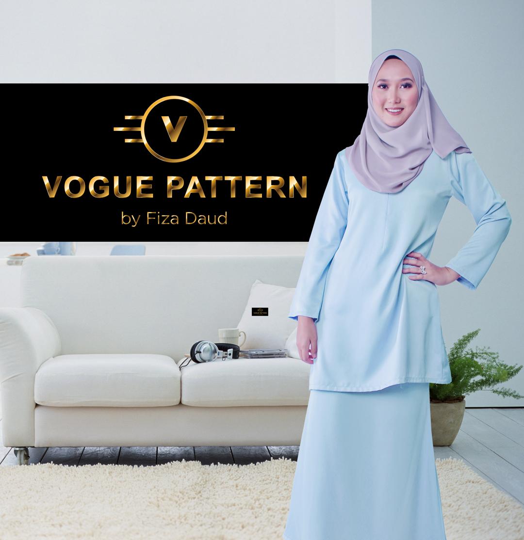 Mini Kurung Moden 2019 - Vogue Pattern