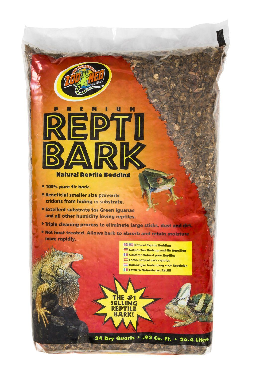 Superb Your bearded dragon should sleep in luxury with Repti Bark high quality vivarium bedding http