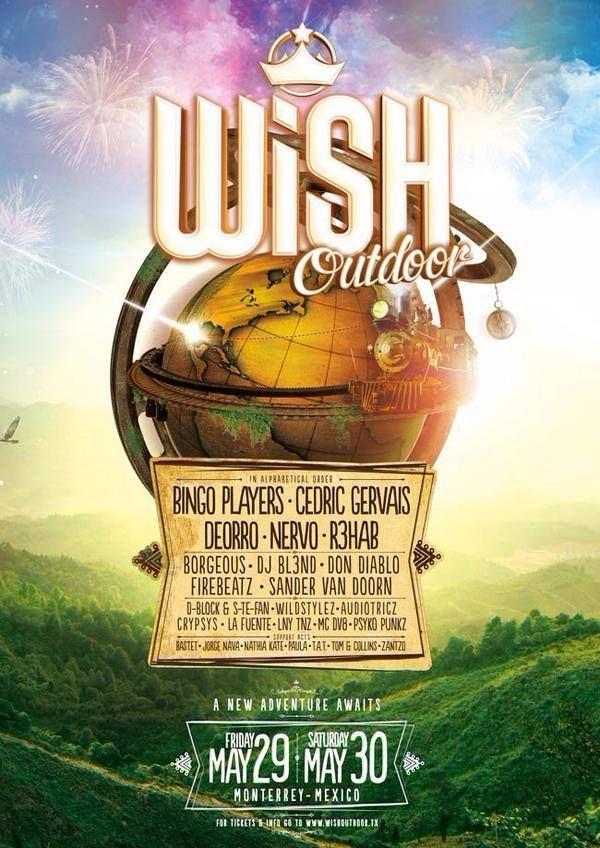 ¡Mañana inicia el WiSH Outdoor - Mexico! un evento a nivel mundial que llega a Monterrey desde Holanda.  29 y 30 de Mayo en Parque Fundidora ¡no te lo pierdas!