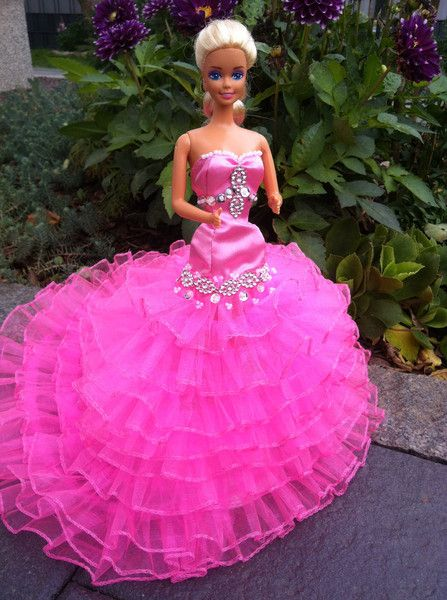 Barbiekleider Barbiekleidung Barbiekleider Nähen Kleider Für