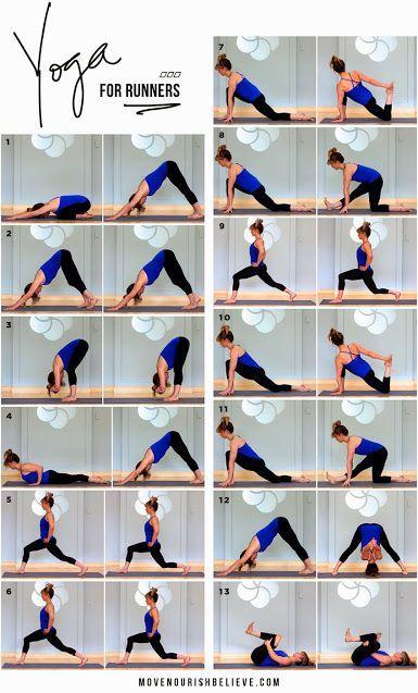 11 Yoga Poses For Runners Yoga For Runners Yoga Postures Yoga Poses