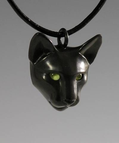Black Cat Jewelry : black, jewelry, Black, Peridot, Jewelry, Necklace,, Lover, Gifts,