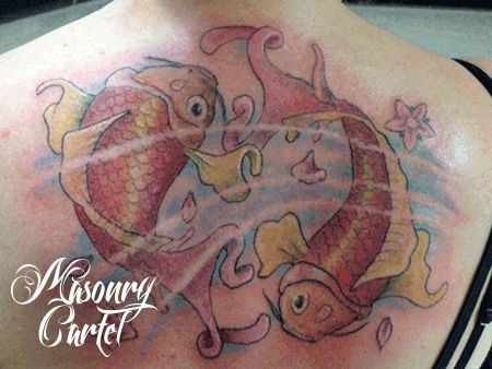 Masonry Cartel #ink #koi #fish #tattoo