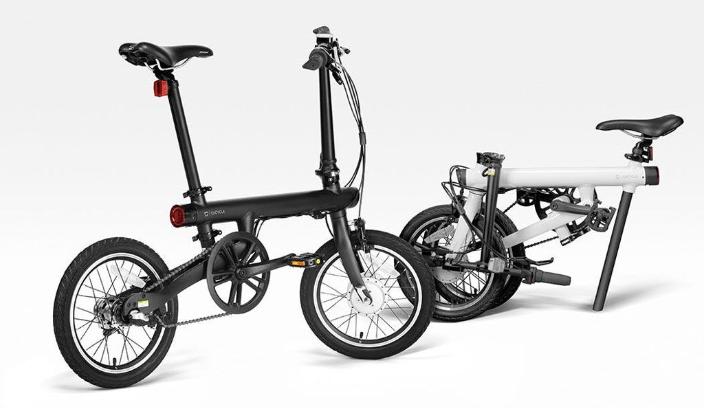 Mijia Qicycle Folding Electric Bike Black Full Specifications