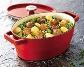 Photo of Recipe Râgout with potatoes and peas in casserole …- Recett …