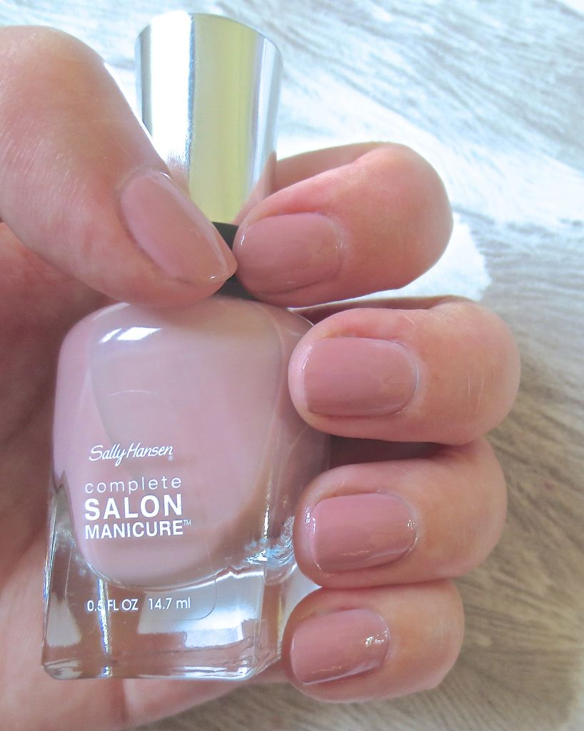Sally Hansen Designer Collection 2015 Herbst Fall Rose Glass