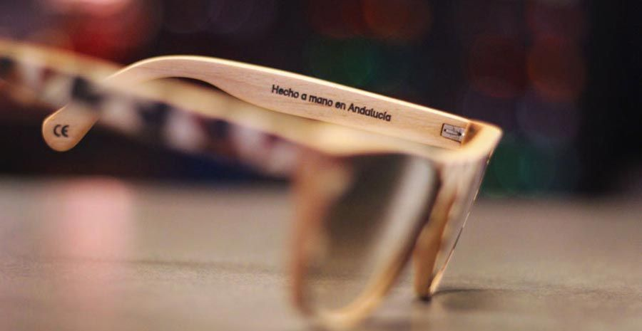 338889b5fe Gafas de Madera Laveta Hechas en Andalucía | Gafas de madera | Gafas ...