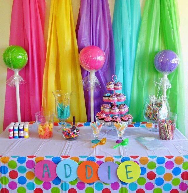 A Perfect Birthday Party Theme For Your 3 Year Old Child Candy Land Birthday Party Candy Theme Birthday Party Lollipop Birthday