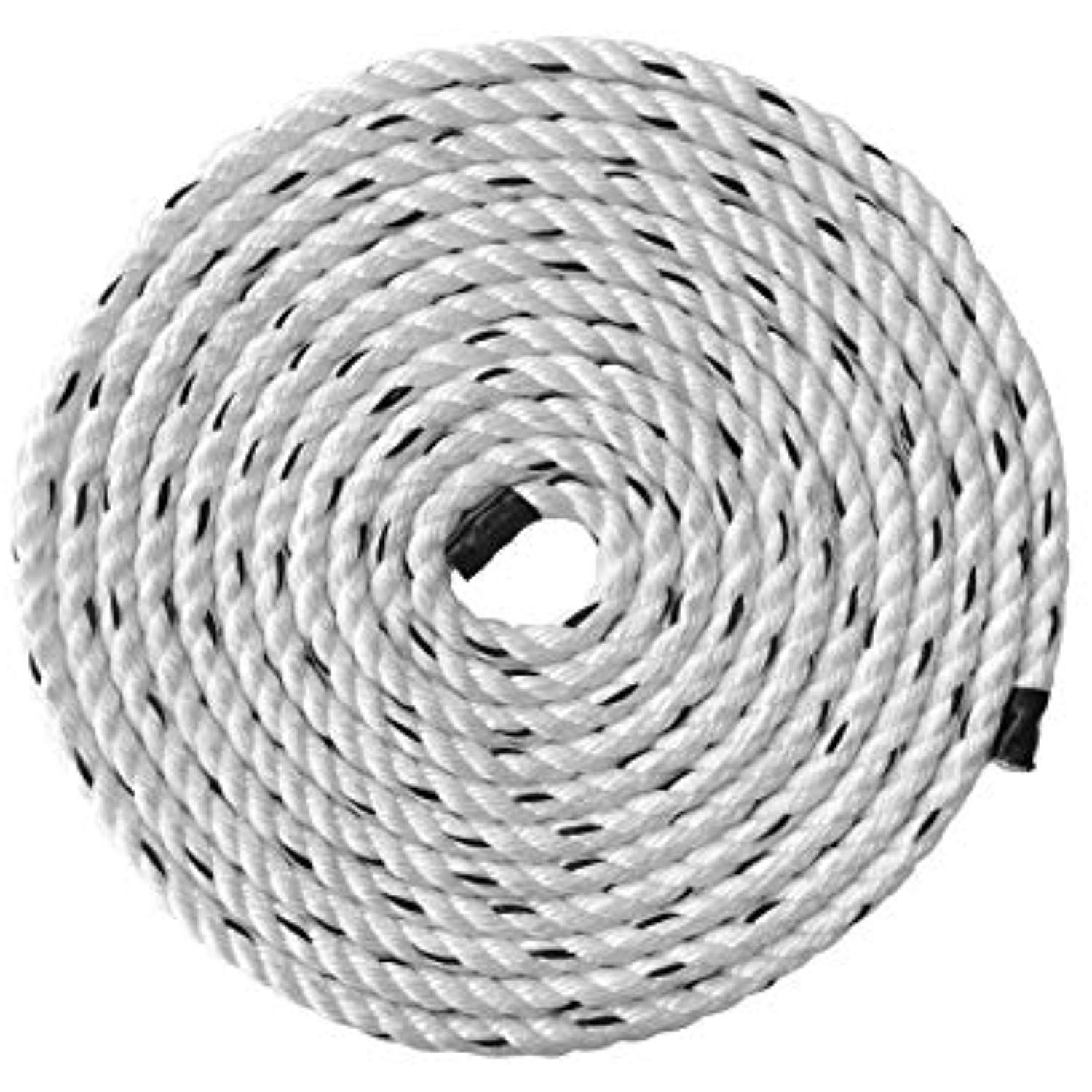Pelican Rope Poly Dacron Rope 1 2 Inch A Twisted 3 Strand Composite Line With Polypropylene Core Moisture Chemical Boatings Poly Twist