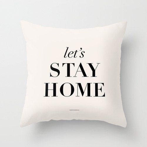 STAY HOME di Silvia Lombardi su Etsy