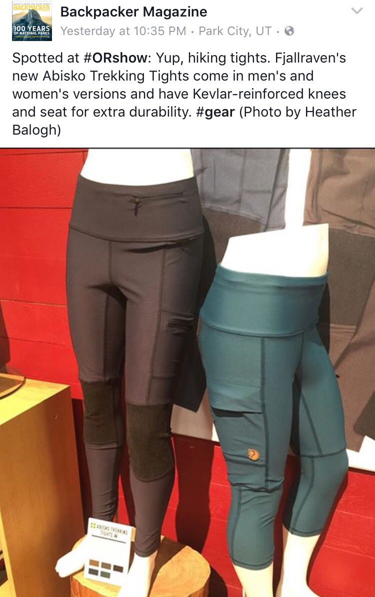 64fef25d592d6 Fjallraven hiking tights | O F F R O A D in 2019 | Trekking outfit ...