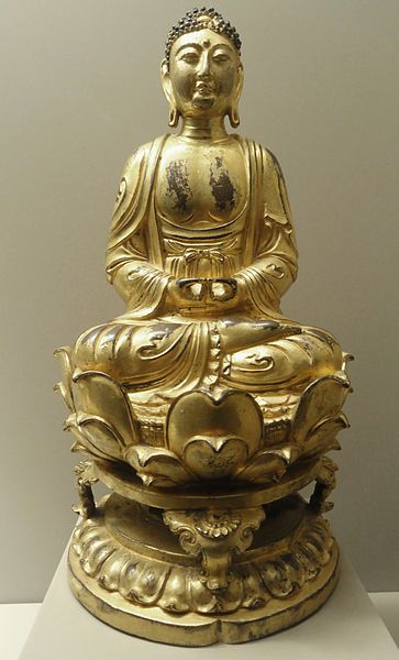 File:Amitabha Buddha of the Forty-eight Vows, Chinese, Liao Dynasty, 10th to early 11th century - Nelson-Atkins Museum of Art - DSC09129.JPG