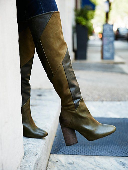 Free People Bright Lights Over the Knee Boot E0xHCa4W
