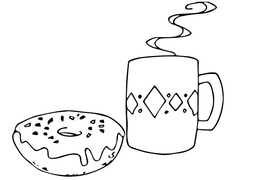 Donut Coloring Pages Best Coloring Pages For Kids Donut Coloring Page Coloring Pages For Kids Coloring Pages