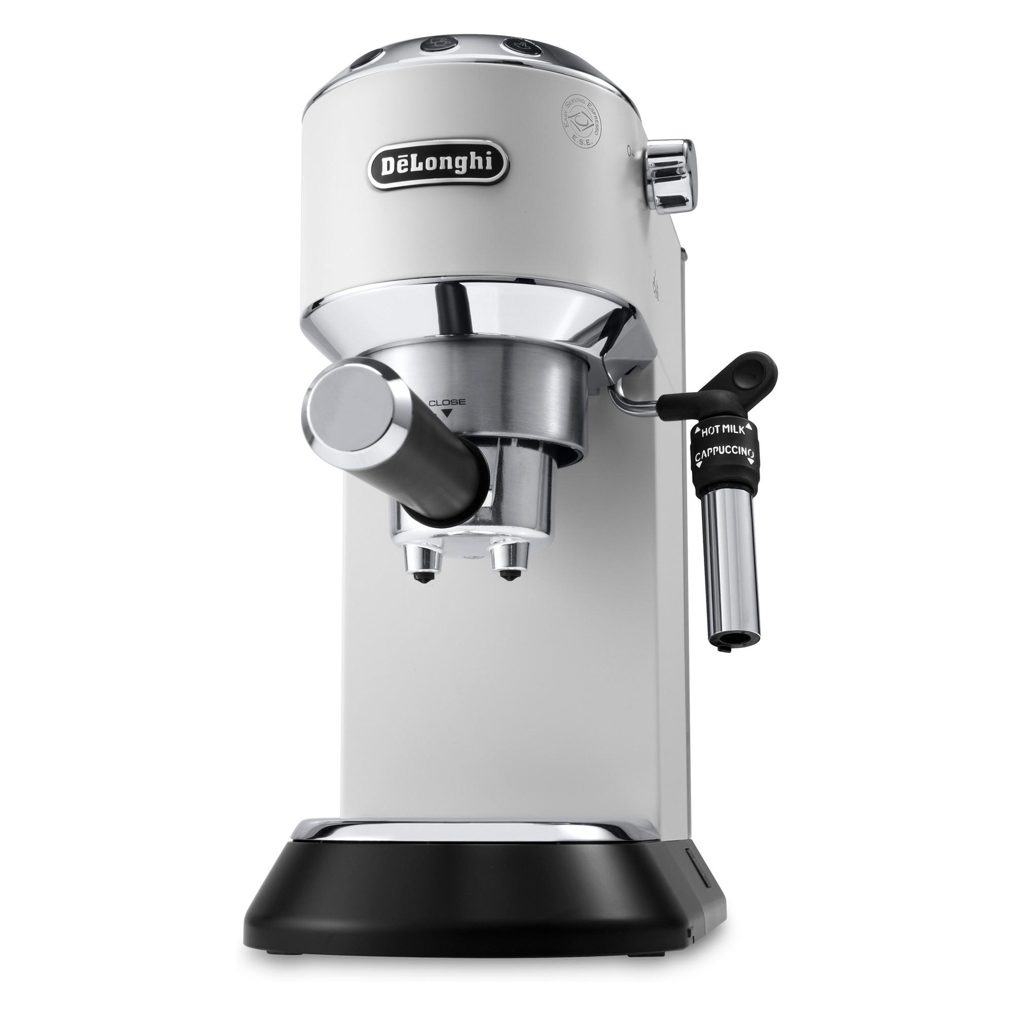 De'Longhi Dedica Deluxe Pump Espresso Machine White