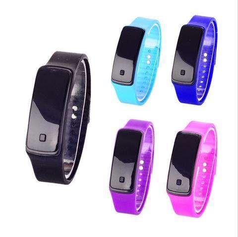 0b0fb1b7533 LED Watch 2017 Fashion Sport Digital Watch Silicone Running Bracelet Watch  For Women Men Kids Wristwatch Relogio Feminino Clock