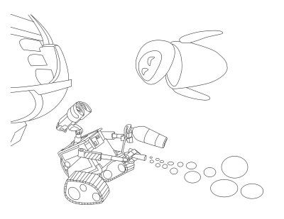 wall e eve coloring pages - photo#20