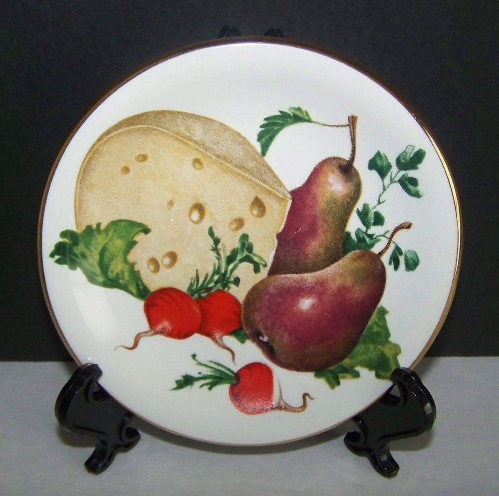 Small Decorative Plates Pall Mall Ware Fwr England Small Decorative Plate Cheese Fruit