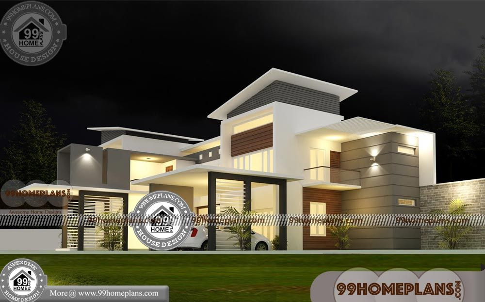 New Kerala Model House Design With Two Story Home Plans Having 2 Floor 5 Total Bedroom 6 Total Bathroom And Ground New House Plans House Design Model Homes