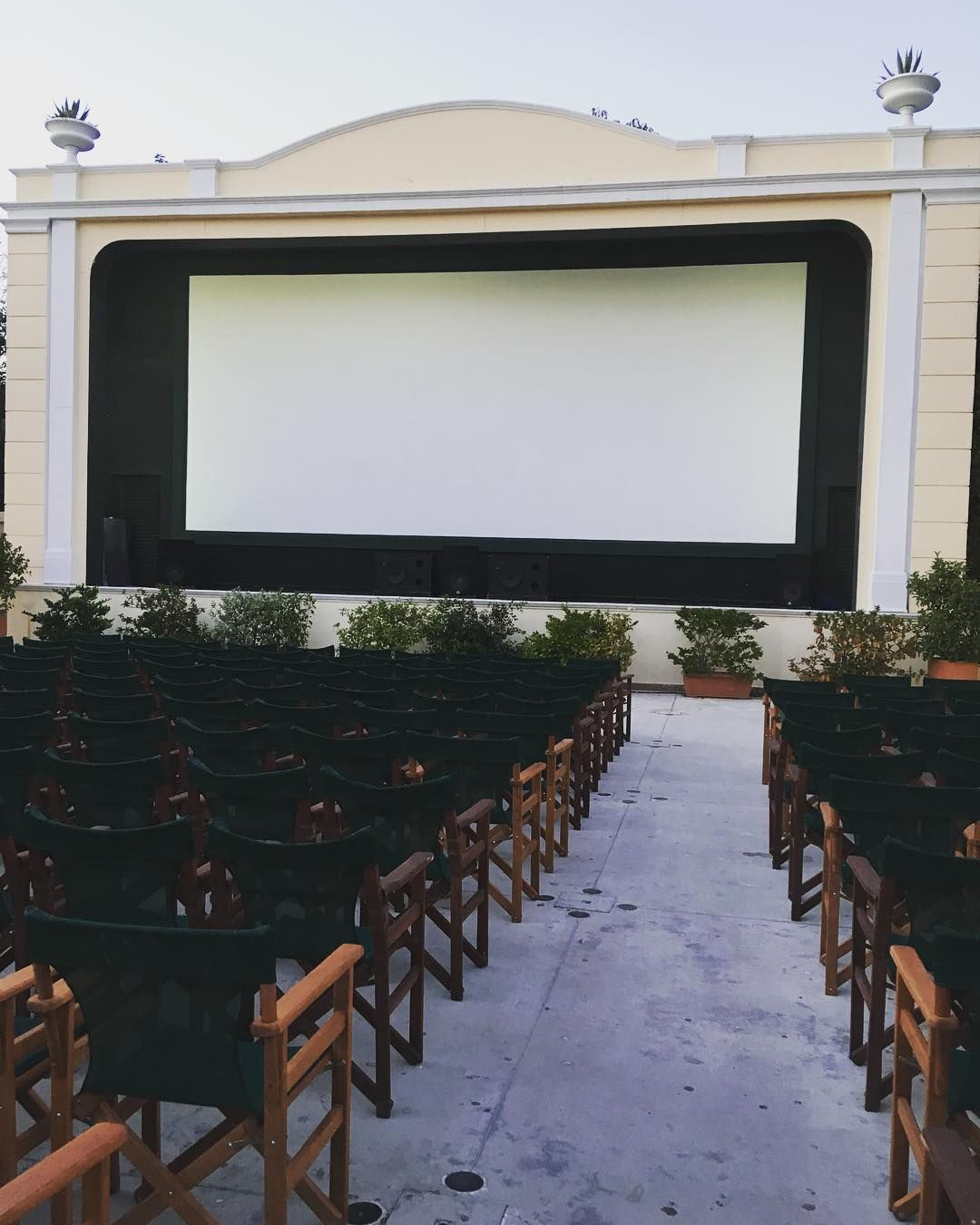 Open air cinema! Wonderful night in an empty city! athens