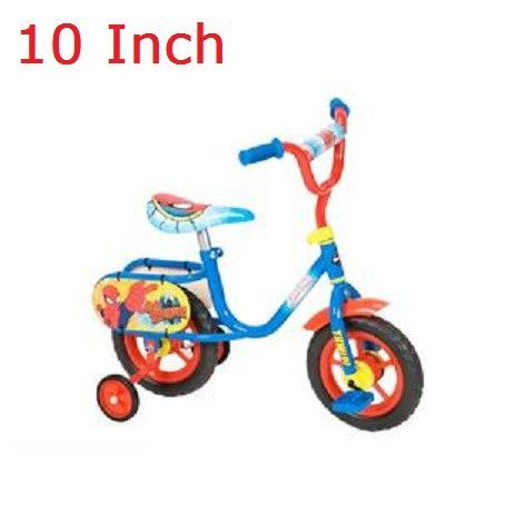 10 Inch Toddlers Kids Bike Bicycle With Training Wheels Tricycle