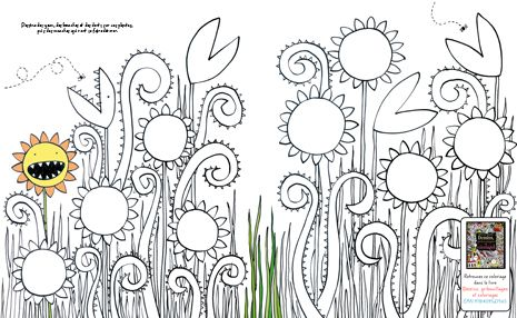sample printable coloring and activity pages from usborne