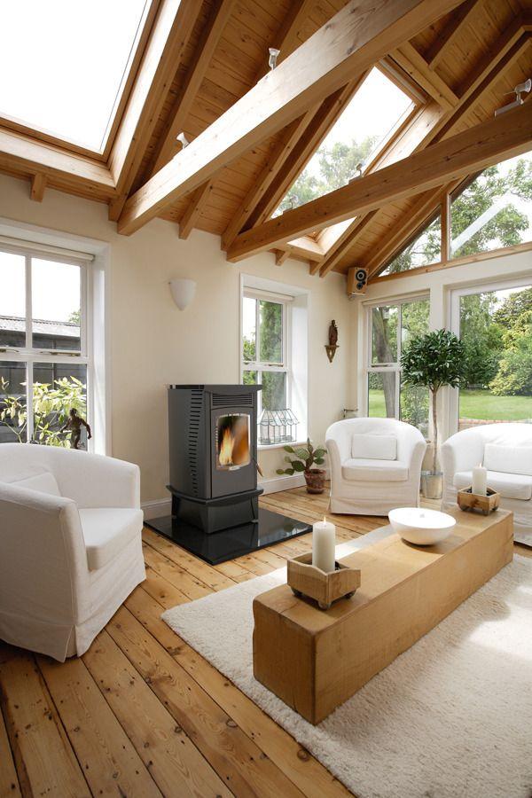 AGA Fusion Pellet Stove | Bradley Stoves Sussex | home improvement ...