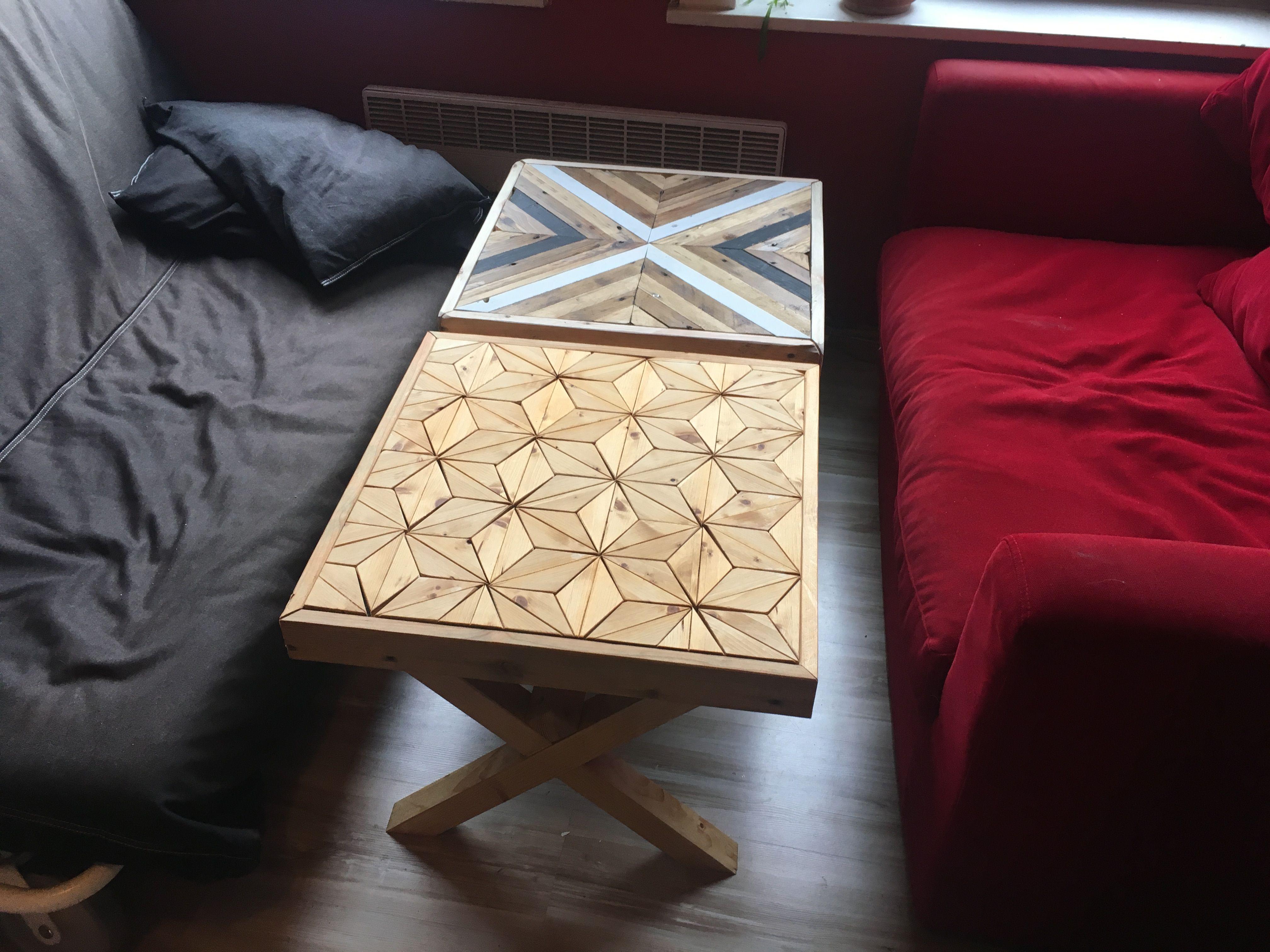 Table Ikea Customiser En Bois De Palette Motifs Bois
