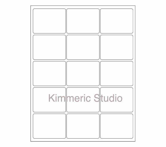 6 SHEETS 90 2x23/4 Blank WHITE MATTE Stickers for by kimmeric, $549