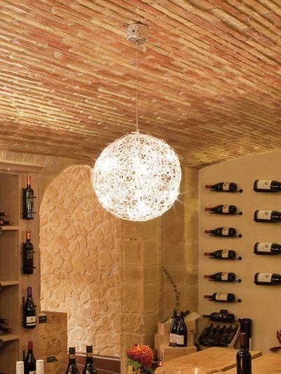 Catellani Smith Fil De Fer 12v Electronic O40cm Sospensione Aluminium Kopen Lampen Woonkamer Thuisdecoratie Woonkamer