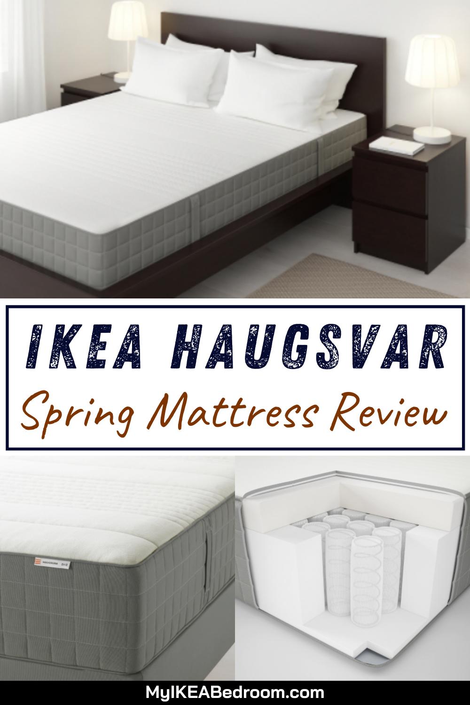 Ikea Haugsvar Spring Mattress Review In 2020 Mattress Springs Mattress Mattresses Reviews