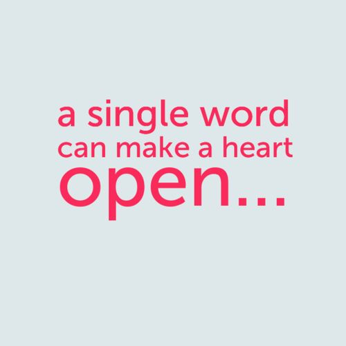 A Single Word Love Quotes Life Quotes Quotes Quote Quotes