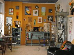 Art Studio with lots of different classes